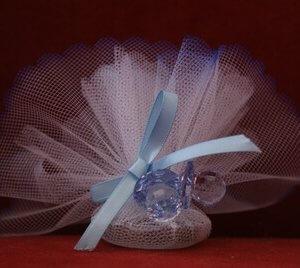 Geboortebedankje 'Speentjes' (blauw)