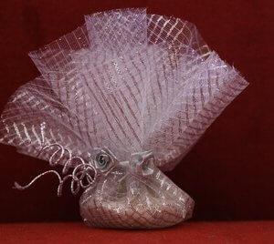 Bruiloft bedankje 'Roosje' (zilver)