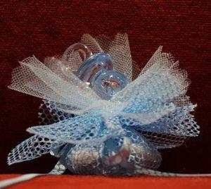 Geboortebedankje 'Speen' (Blauw)