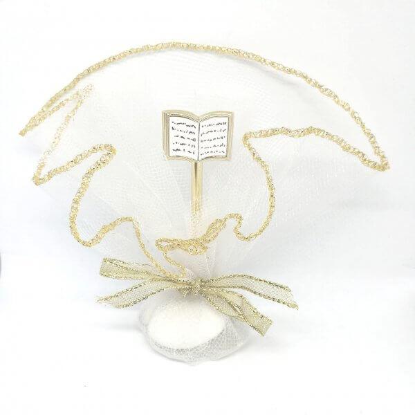 Communie bedankje 'Bijbel' (Goud)